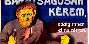 Humor a köbön, plakát, OSZK