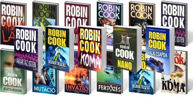 Robin Cook 75