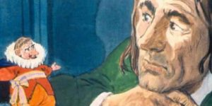 Zórád Ernő - Jonathan Swift: Gulliver Lilliputban 29. (Fotó: zoraderno.hu)