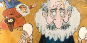 Zórád Ernő - Jonathan Swift: Gulliver Lilliputban 32. (Fotó: zoraderno.hu)