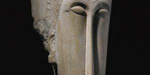 Amedeo Modigliani: Fej (Tete) (Fotó: sothebys.com)