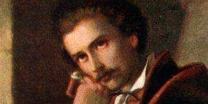 Orlay Petrics Soma: Petőfi Sándor Debrecenben, 1844 (Fotó: Wikiart)