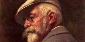 Benczúr Gyula: Önarckép, 1917 (Fotó: Wikiart)