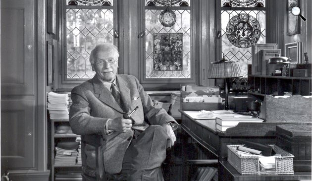 Carl Gustav Jung pszichiáter, pszichológus, analitikus (Fotó: psicologiaanalitica.com.br)