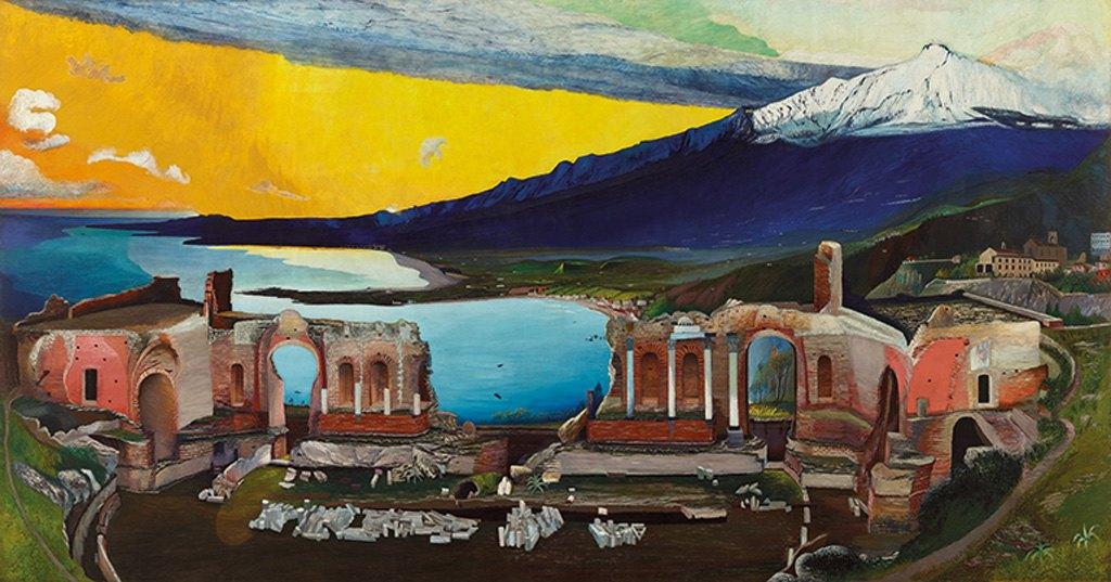 Csontváry Kosztka Tivadar: Taormina
