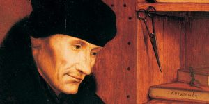 Desiderius Erasmus Rot(h)erodamus (Fotó: Wikiart)