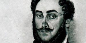 Ruprecht János litográfiája: Galánthai Balogh János, Bars vármegye követe, 1830-as évek (Fotó: MEK/OSZK)