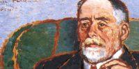 Rippl Rónai József: Szinyei-Merse Pál, 1911 (Forrás: MNG)