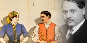 Szirmai Albert, Mágnás Miska plakát 1916 (Fotó: OSZK/Cultura)
