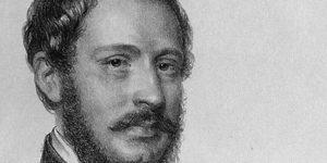 Tompa Mihály költő, református lelkész (Fotó: Nemzeti Portrétár)