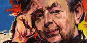 Izsák József: Fejes Endre író portréja (Fotó: PIM)