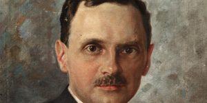 Reményik Sándor költő portréja (Fotó: PIM)
