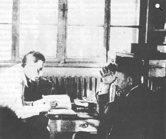 Kereszty György és Wolf Emil (Fotó: ujpest.hu)