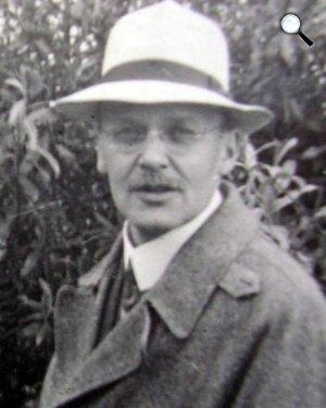 Hans Geiger fizikus, 1928 (Fotó: Wikipédia)