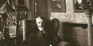 Gróf Andrássy Gyula otthonában (Fotó: Kieselbach Galéria)