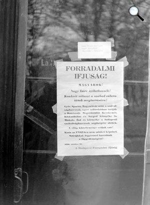 1956-os forradalom és szabadságharc, Budapest (Fotó: Fortepan)