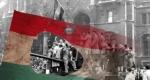 1956. október 23. lyukas magyar zászló