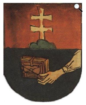 Az óbudai egyetem címere, Ulrich Richental krónikájából, 1483 (Fotó: Wikipédia)