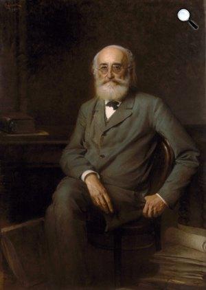 Horowitz Lipót: Tisza Kálmán portréja, 1894 (Fotó: MTA)
