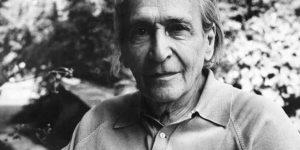 Déry Tibor Kossuth- és Baumgarten-díjas író. (Fotó: PIM)