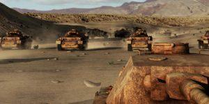 Háborús tankok (Fotó: DoQ)