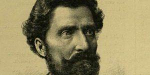 Szarvas Gábor nyelvész, 1895 (Fotó: Vasárnapi Ujság / OSZK)
