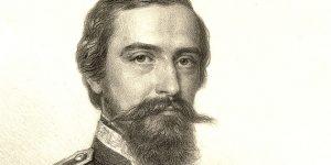 Xántus János néprajzkutató, etnográfus, 1861 (Fotó: OSZK)