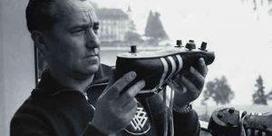 Adolf Dassler, az Adidas cég alapítója (Fotó: listal.com)