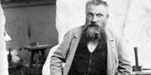 Auguste Rodin a műtermében, 1898 (Fotó: Dornac/Wikipédia)