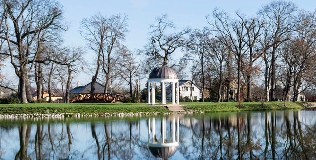 Egy séta a fehérvárcsurgói Károlyi-kastélykertben