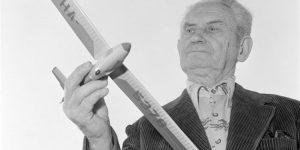 Idősebb Rubik Ernő repülőmérnök, repülő-tervező - (1910-1997) (MTI Fotó)