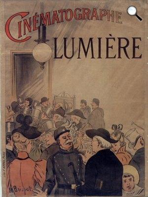 Cinématographe plakát - Lumière (Fotó: Wikipédia)