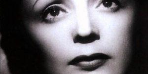 Édith Piaf (1915-1963) sanzonénekes (Fotó: listal.com)