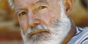 Ernest Hemingway író (Fotó: babelio.com)