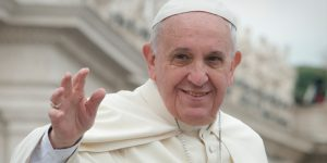 Ferenc pápa, 2015, New York (Fotó: Jeffery Bruno)