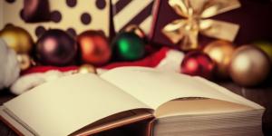 Karácsony, könyv, ajándék