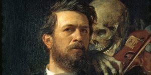 Arnold Böcklin: Önarckép, 1872 (Fotó: Wikiart)