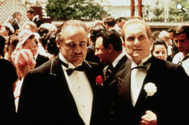 Coppola: A keresztapa - Marlon Brando és Robert Duvall, 1972 (Fotó: listal.com)