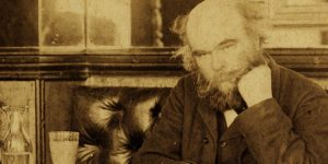 Paul Verlaine a Café François-ban, 1892 (Fotó: M. Dornac, sothebys.com)
