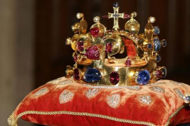 Szent Vencel koronája (Fotó: Wikipédia)