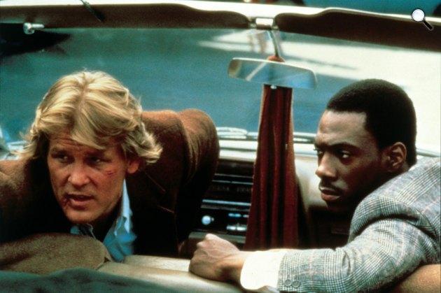 48 óra - Nick Nolte és Eddie Murphy, 1982 (Fotó: listal.com)