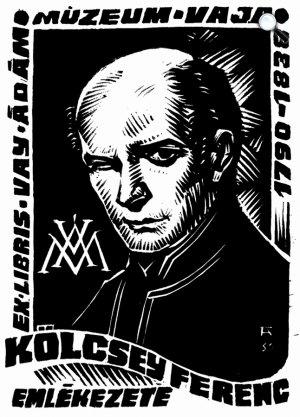 Ex libris és képkultúra - Kölcsey Ferenc (Fotó: OSZK)
