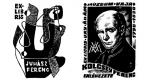 Ex Libris - Juhász Ferenc és Kölcsey Ferenc (Fotó: OSZK)