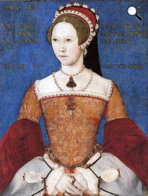 Master John: I. Mária angol királynő, 1544 (Fotó: Wikipédia)