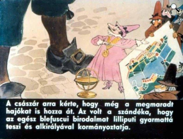 Zórád Ernő - Jonathan Swift: Gulliver Lilliputban 43. (Fotó: zoraderno.hu)
