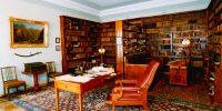 Alekszandr Puskin könyvtárszobája, Szentpétervár, Oroszország (Fotó: saint-petersburg.com)
