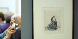 Rembrandt-kiállítás, Sellyei-kastély, Balmazújváros (MTI Fotó)
