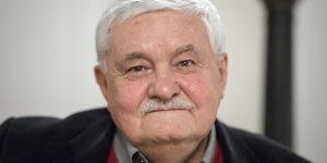 Végel László Kossuth-díjas vajdasági magyar író (MTI Fotó: Mohai Balázs)