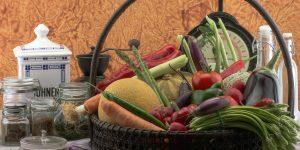 Zöldség, étel, csendélet