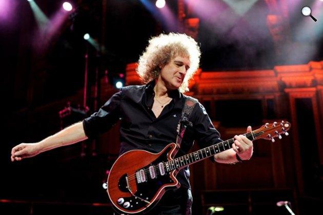 Brian May (Fotó: listal.com)